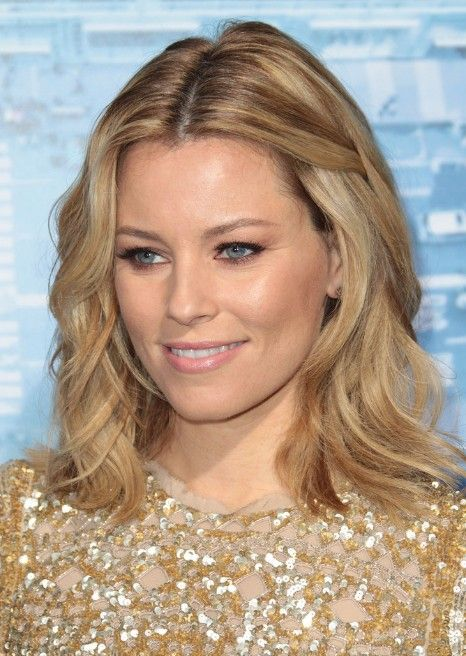 medium+hair+cuts+for+round+faces | Elizabeth Banks Shoulder Length Hairstyle | Hairstyles Weekly