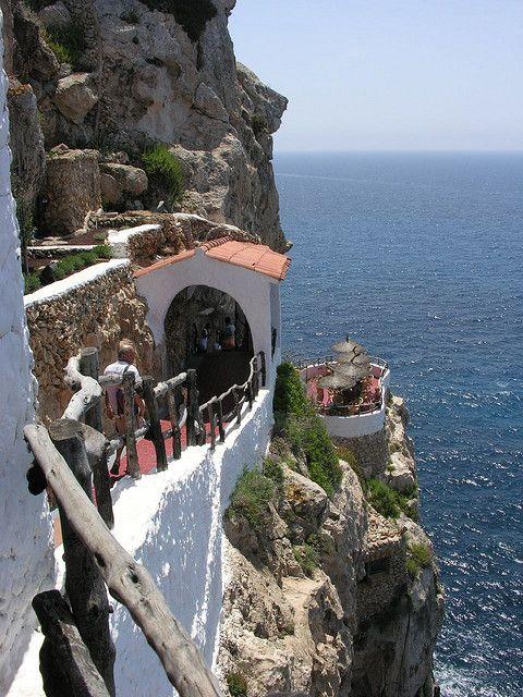 Cova d'en Xoroi Club in Menorca, Spain