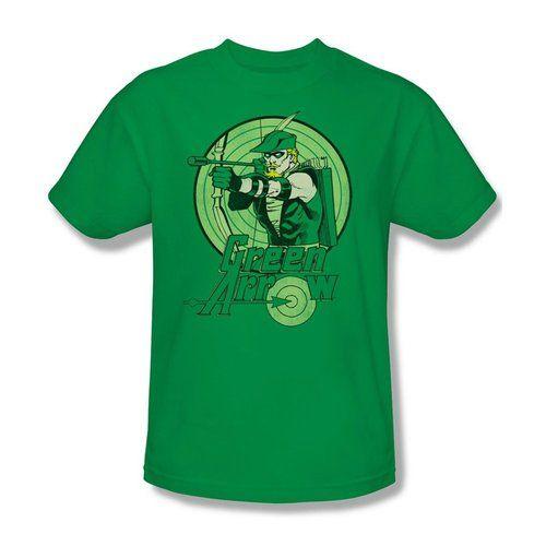 Green Arrow Kelly Green T-shirt