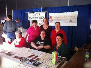 Romance Writers of Atlantic Canada at Word on the Street 2013