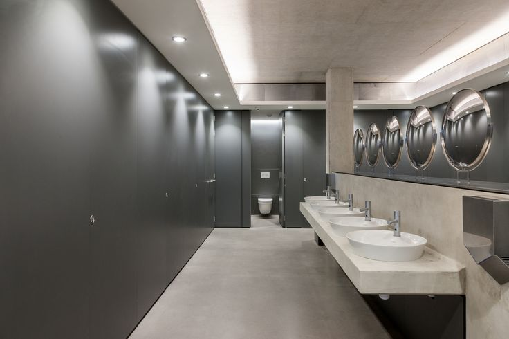 Grant Westfield: Façade Flush Executive Washroom Cubicle System 2 of 8