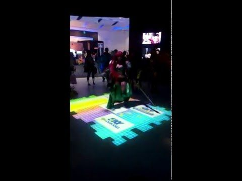 Interactive Floor Projection | Waveplay Interactive Inc.