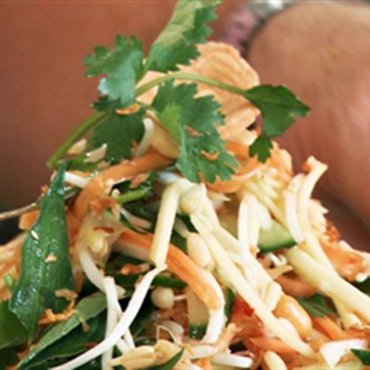 Try this Vietnamese Salad with Nuoc Nam recipe by Chef Gary Mehigan. This recipe is from the show Boys Weekend.