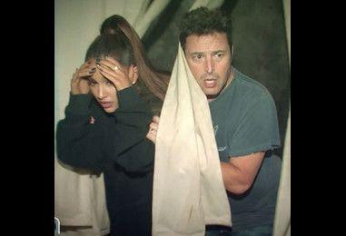 Ariana Grande Can't Keep Her Cool in Ellen DeGeneres' Haunted House