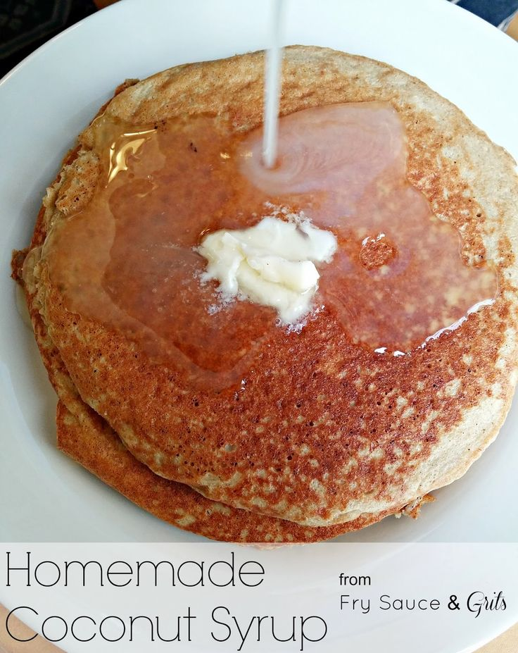 The Easiest Homemade Coconut Syrup Recipe #homemade #syrup #coconutsyrup {www.frysauceandgrits.com}