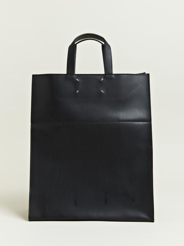 Maison Martin Margiela Defile Women's Leather Tote Bag