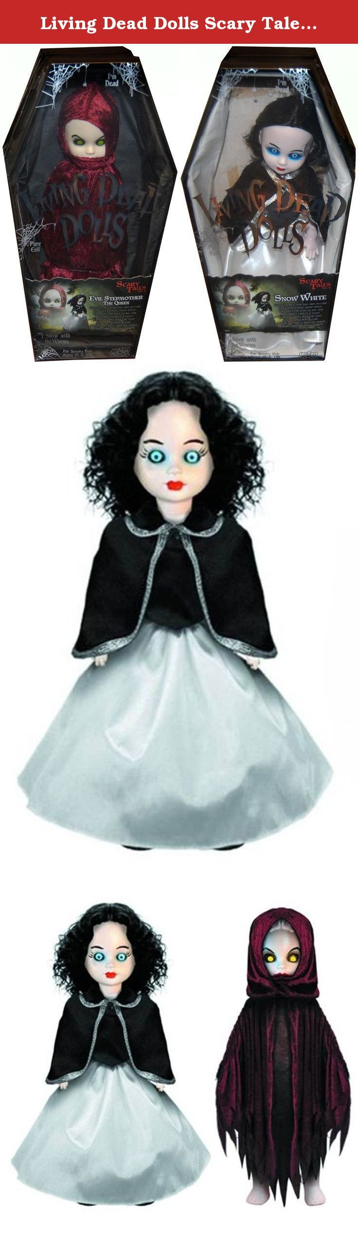 Living Dead Dolls Scary Tales #4 Snow White Set Of 2. Set of 2 includes:.