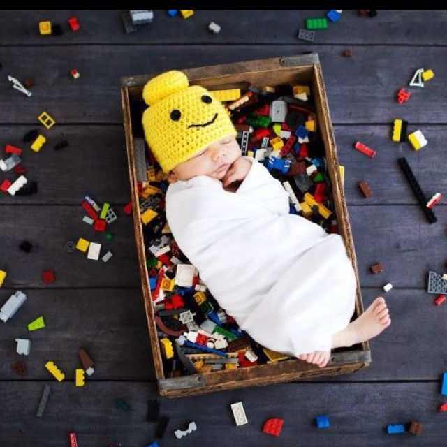 Lego baby. Almost makes me think of another... NO, no... Just nice to look at!