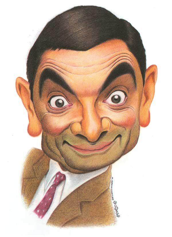 Caricature Collection MR BEAN Mr bean