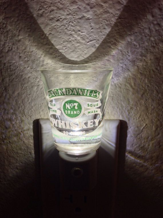 Jack Daniels Green Label Shot Glass by LastCallillumination, $15.00
