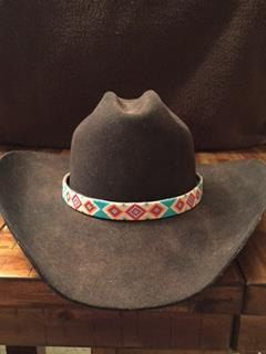 A personal favorite from my Etsy shop https://www.etsy.com/listing/261898034/western-beaded-cowboy-hat-band