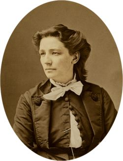 Victoria Woodhull. First female candidate for US president & Frederick Douglass was her VP running mate. Abolitionist & women's suffrage activist