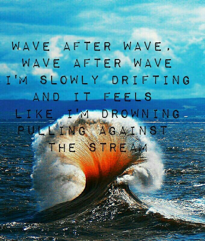 Waves Quotes: Waves Lyrics Mr Probz Wave After Wave