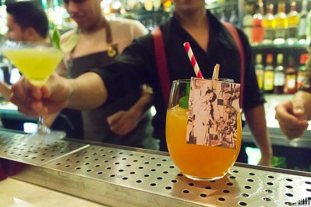 MadBar: La carta Los del Bar incluyó este cóctel llamado Al Maestro Boutiki, creación de Carlos Baca.