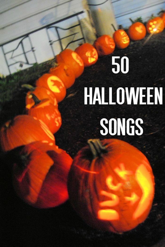 50 halloween songs - Halloween Music For Parties