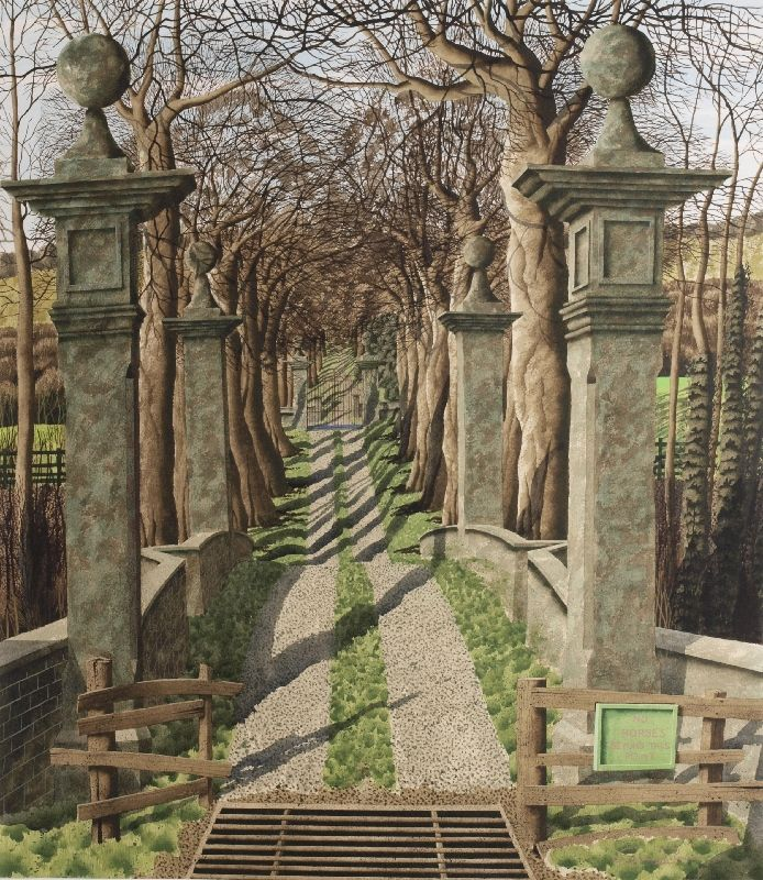 """Lord's Bridge"" by Simon Palmer (watercolour, ink and gouache)"