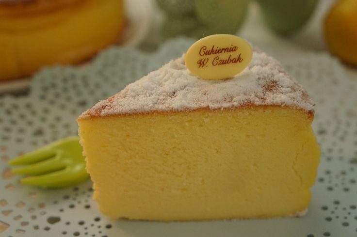 aksamitny torcik serowy