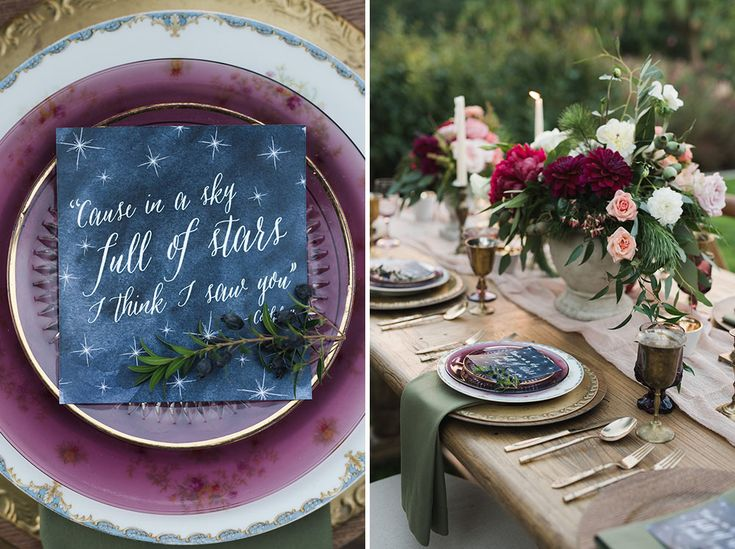 The stars were all aligned for this evergreen inspired wedding, just featured on Green Wedding Shoes! Whimsical and rustic in all the right ways, this unforgettable wedding was just as charming as ever!   Such a pleaser working with Amorology, Jessica Kettle Photography, Mission Viejo Country Club, Twigg Botanicals, and all the other amazing vendors at this one-of-a-kind wedding!
