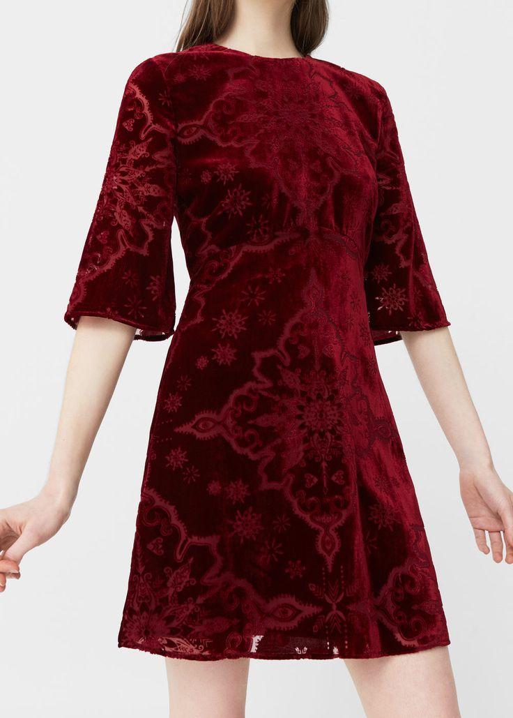Velvet dress - Dresses for Woman | MANGO USA