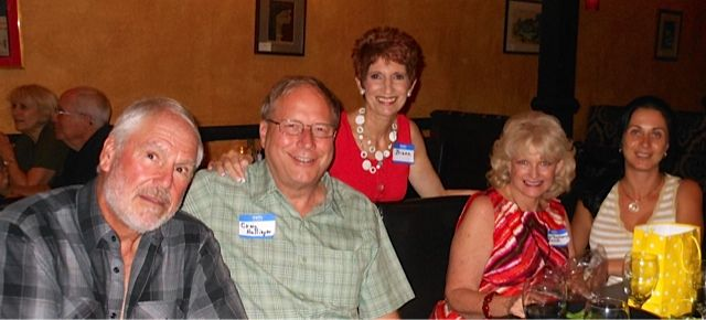 Werner Knopp, Craig Hullinger, Briana Knoop, SCAS President Beth Ruyle Hullinger and Yulia Gaukhman at the Tsunami Meet & Greet in downtown Sarasota in November 2013