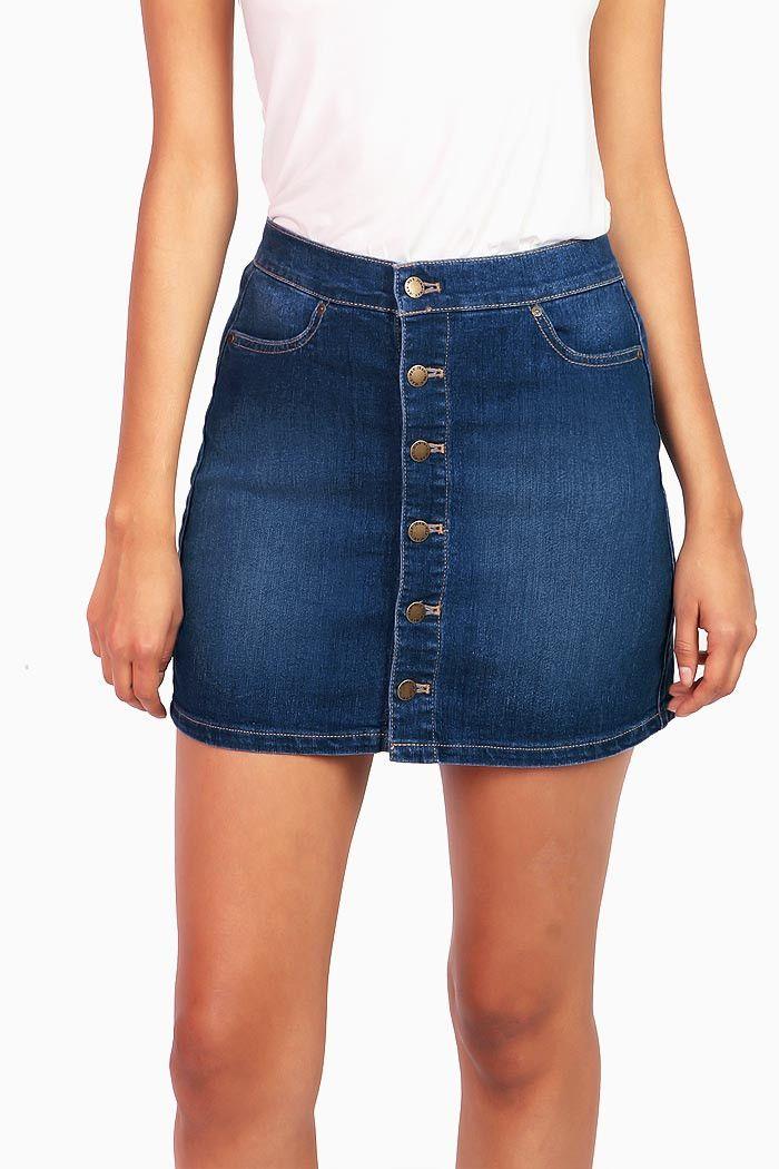 best 25 button denim skirt ideas on jean