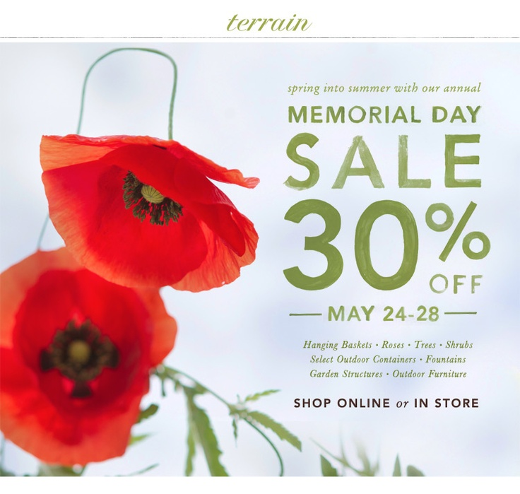 when is memorial day sale 2014