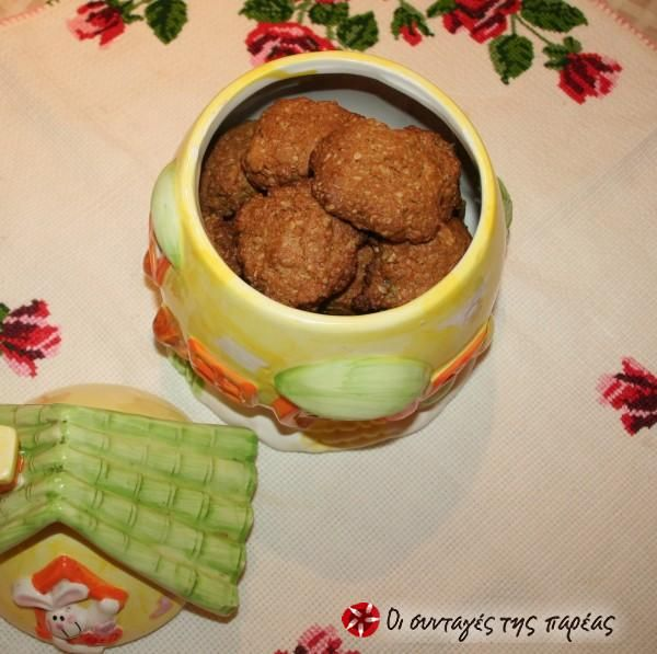 Light μπισκότα βρώμης με μέλι #sintagespareas