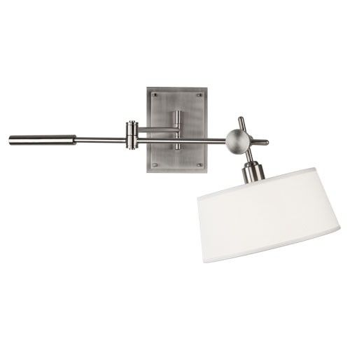 Robert Abbey Rico Espinet Miles Wall Mounted Boom Lamp in Brushed Nickel