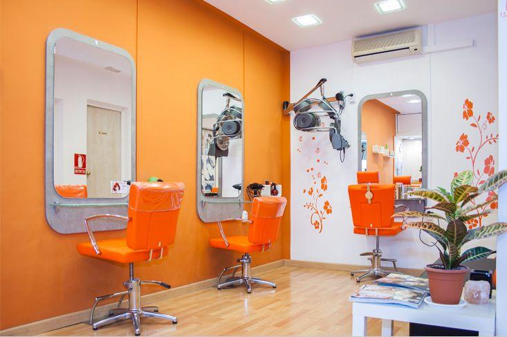 Decoracion de locales peluqueria decoraci n locales - Interiores de peluquerias ...