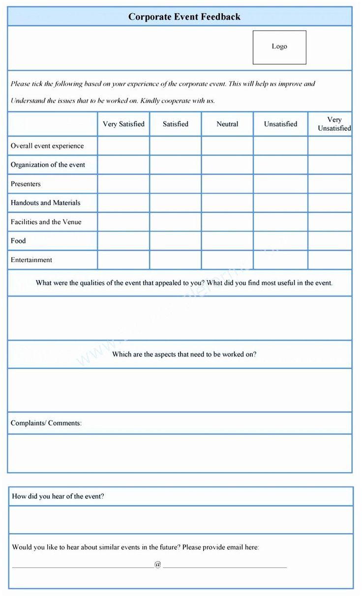 Feedback Form Html Template