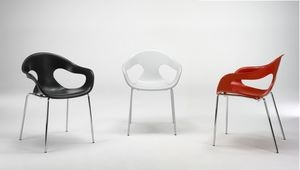 organic design chair SUNNY 4G PLASTIC by Picco & Foschia AREA DECLIC