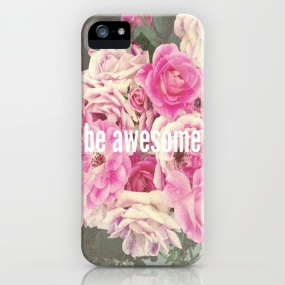 be awesome iPhone & iPod Case by steph thompson - $35.00