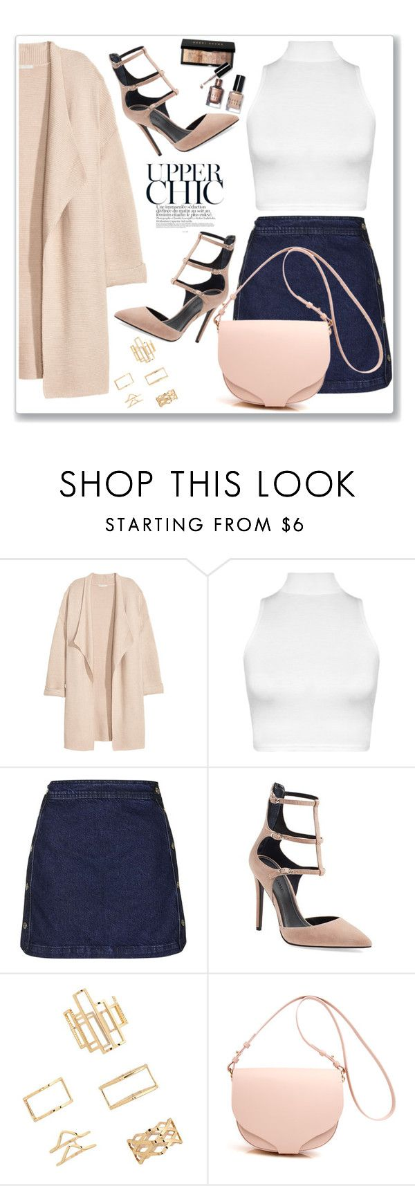"""""""Upper Chic"""" by christinacastro830 ❤ liked on Polyvore featuring Kofta, WearAll, Topshop, Kendall + Kylie, Forever 21, women's clothing, women, female, woman and misses"""