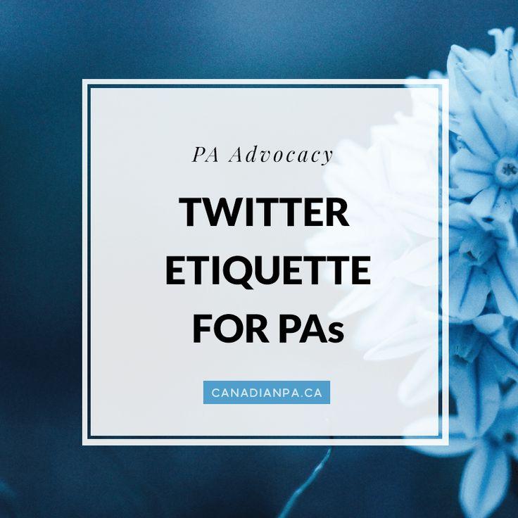 Twitter Etiquette for Physician Assistants 84 best