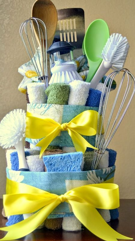 Dish Towel Cake (Step-by-Step Tutorial)
