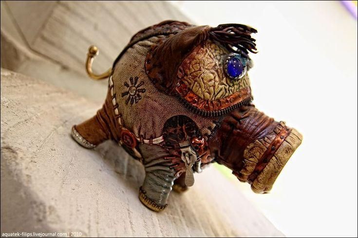 Дмитрий Кравцов и его скульптуры животных