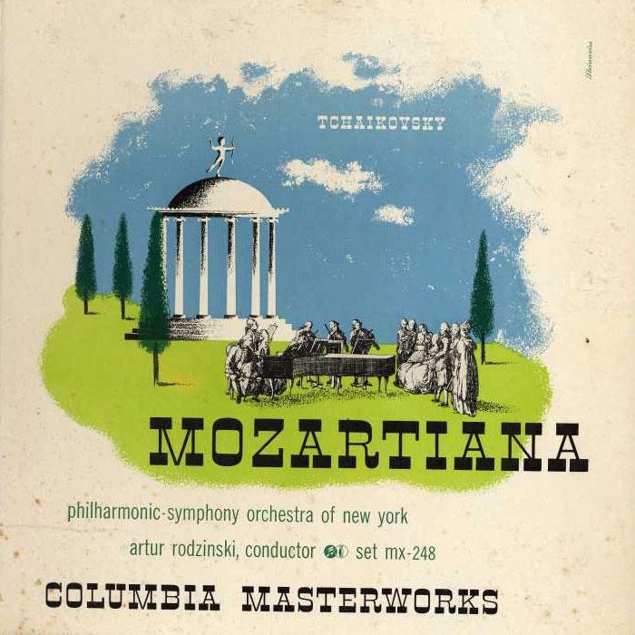 Alex Steinweiss: Tchaikovsky / Mozartiana