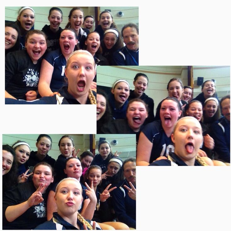 #7: Take a crazy team photo: We even got our coaches in on these intense selfies! #duckface