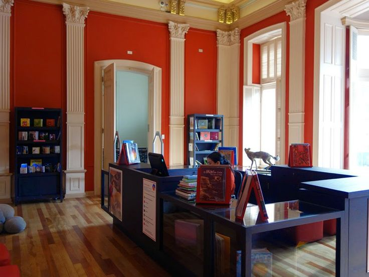Book store and reading room, another room that has been restored in Palacio Lyon. A wonderful place for great coffee, history, and culture. | Comidas Con Onda | www.bayessence.com