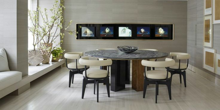 Modern Dining Room Ideas In Inspirational Home Decor Styles  #HomeDecoratingIdeas