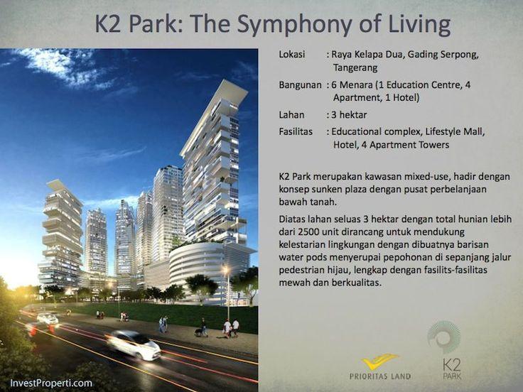 K2 Park Jalan Raya Kelapa Dua Gading Serpong Tangerang