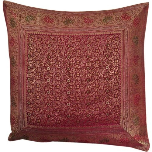 ($48.13) Spring Decorations Throw Pillows Case in Silk From ShalinIndia