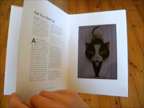 Catnip: a selection of cat idioms and their origins.  Barrier grid animation book.