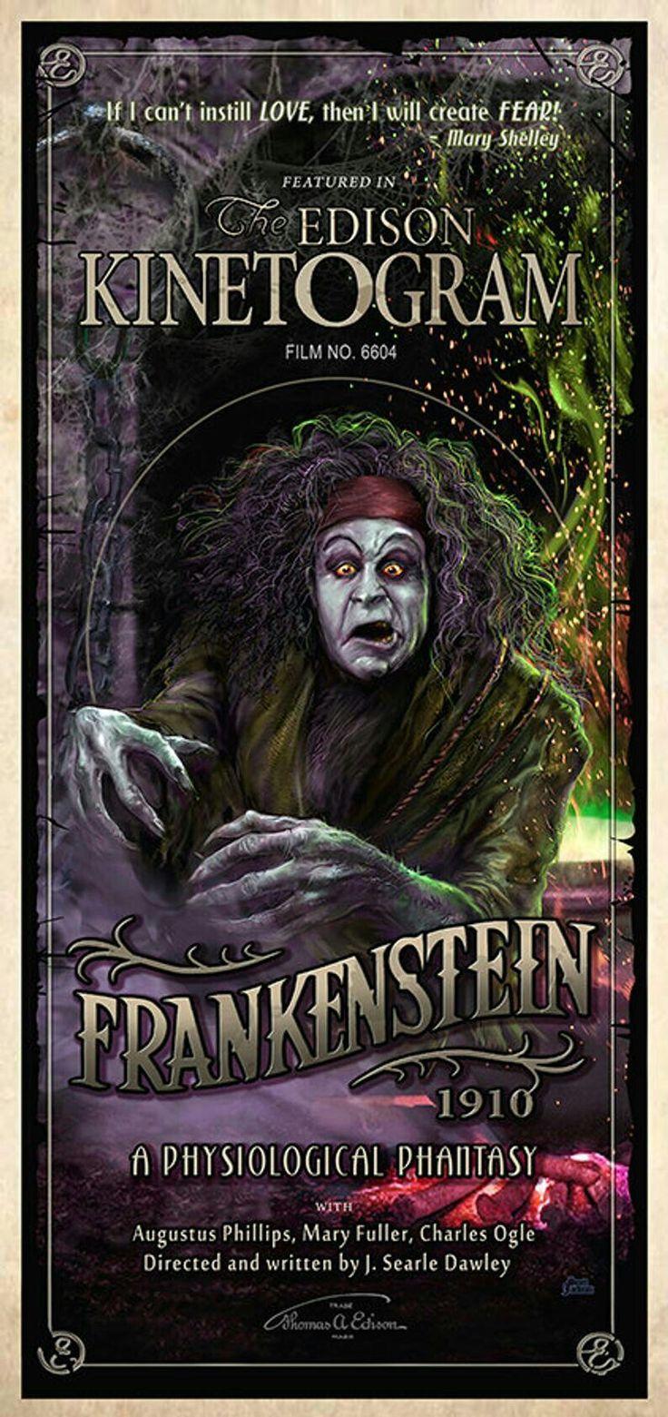 Frankenstein 1910 in 2020 classic horror movies horror
