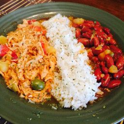 Pollo Guisado is a typical Puerto Rican and Dominican dish that is served over rice. - Pollo Guisado (Spanish Stewed Chicken)