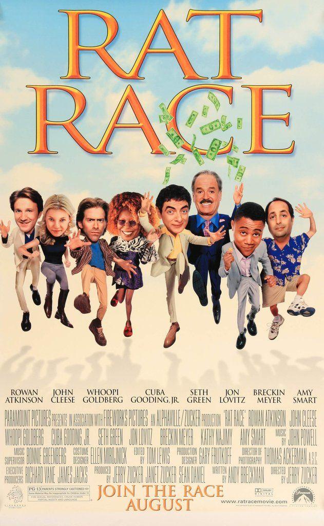 Rat Race (2001) #2000s #2001 #27x40