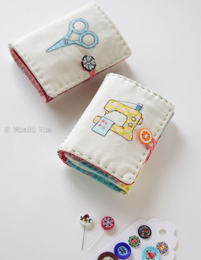 Oh, my favourite Needle Books! – Minki's Work Desk