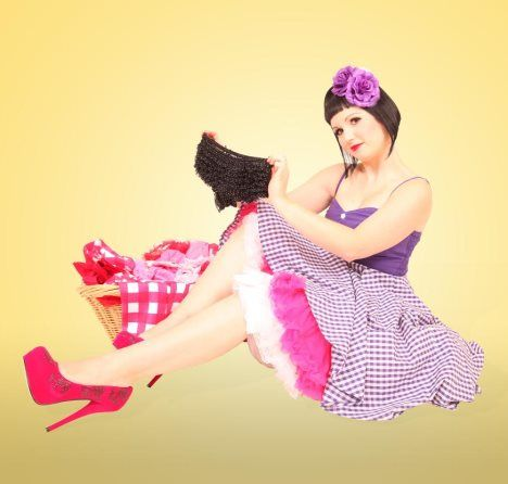 Rockabilly Style Pin-up