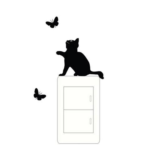 Best CatsSticker For Wall Images On Pinterest Wall Stickers - Vinyl decal cat pinterest