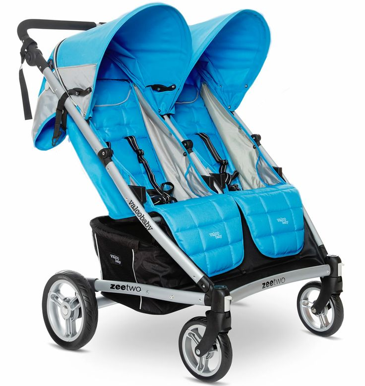 Valco 2013 zee two double stroller cloudless with